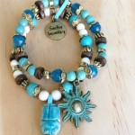 Scarab Beatle Bracelet Set - Wholesale Example