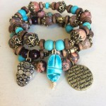 Sugar Skull Bracelet Set - Wholesale Example