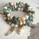 Luxury Beach Bracelet Set - Wholesale Example